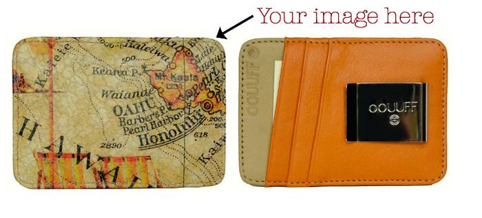 Leather Card Holding Money Clip: RFID Anti-theft Blocking