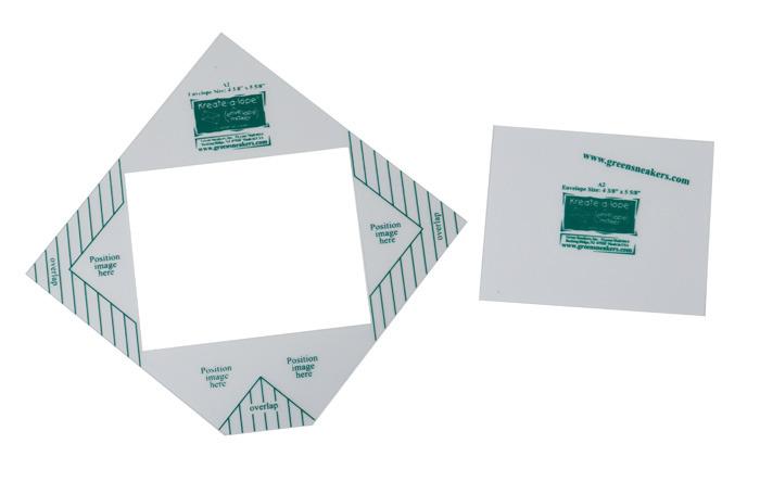 "Kreate-a-lope® A2 Standard Invitation Size - Makes envelopes 4 3/8"" x ..."