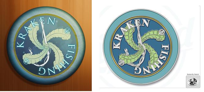 Camp myth 2 kraken fishing by chris lewis carter for Fishing merit badge