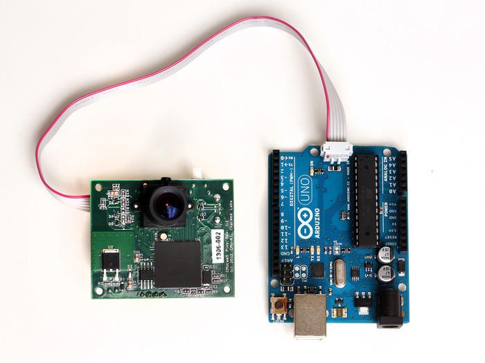 OV7670 Arduino Camera Sensor Module Framecapture