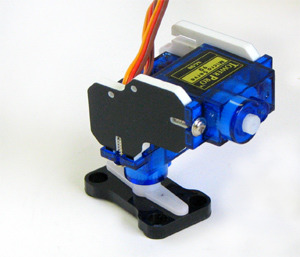 Prototype of Pi-Pan Servo Assembly