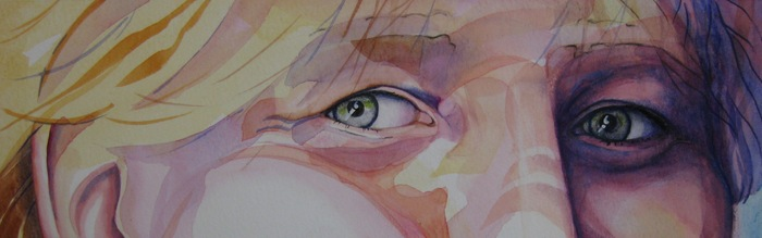 Windows to my soul: watercolor