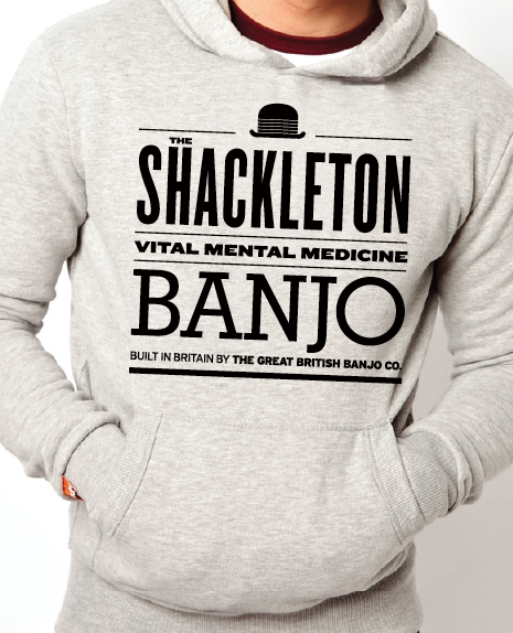 The unique Shackleton expedition enamel hoody.