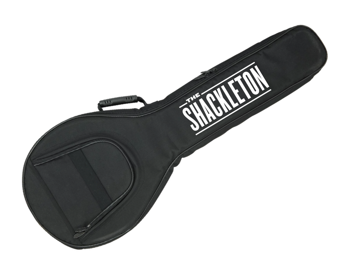 The distinctive Shackleton banjo gig bag