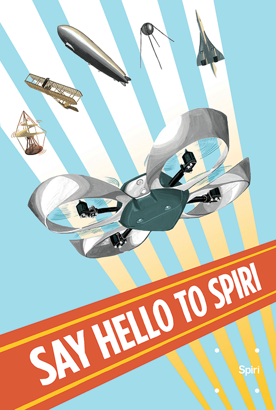 Spiri Poster by Gillian Goerz