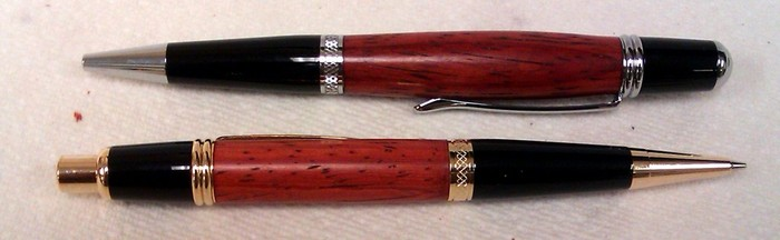 Pen and pencil set similar to what I will turn for you.