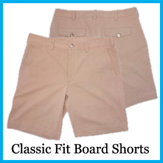 Classic Fit Hybrid Board Short - Color Sonora Tan