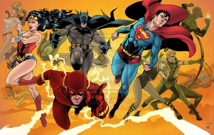 Martheus Wade Justice League print