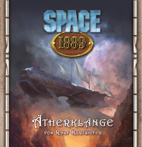 German Cover of the Space: 1889 Soundtrack CD