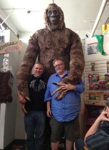 Cliff Barackman and Craig Woolheater and SquatchIt - along with someone else ;)