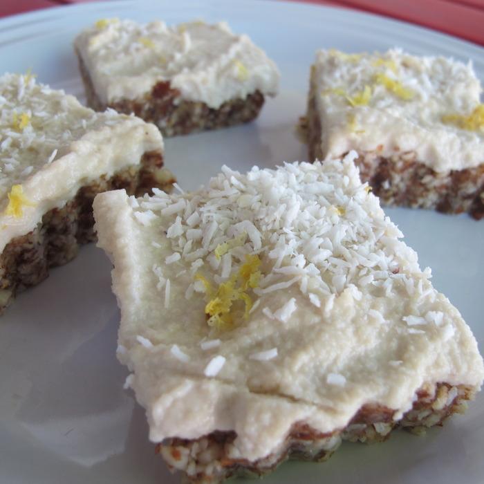 Chef Audrey's Living Lemon Squares