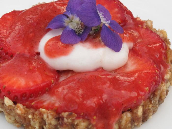 Chef Audrey's Living Strawberry Shortcake