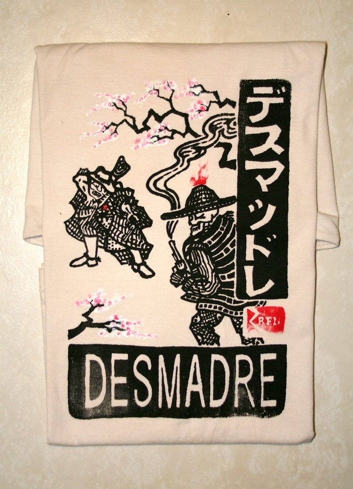 Previous Desmadre t-shirt currently out of print
