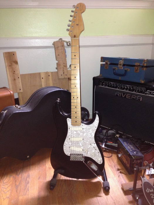 "Eric Clapton ""Blackie"" Stratocaster to be signed by everyone on the album."