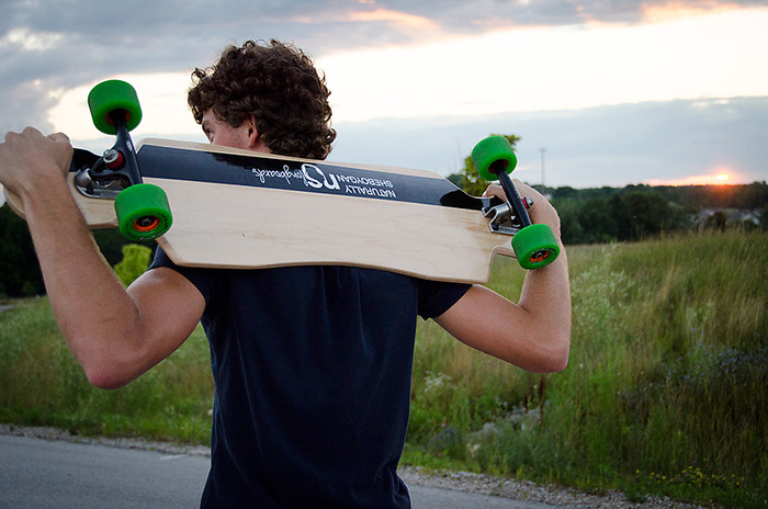 Team Rider Cavan Faucett at sunset. Photo Credits:Christina Marie Photography.