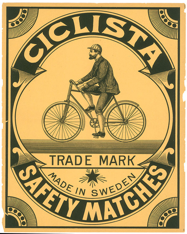 The Original Ciclista Matchbox Label