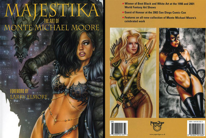 Majestika Full Color Artbook.