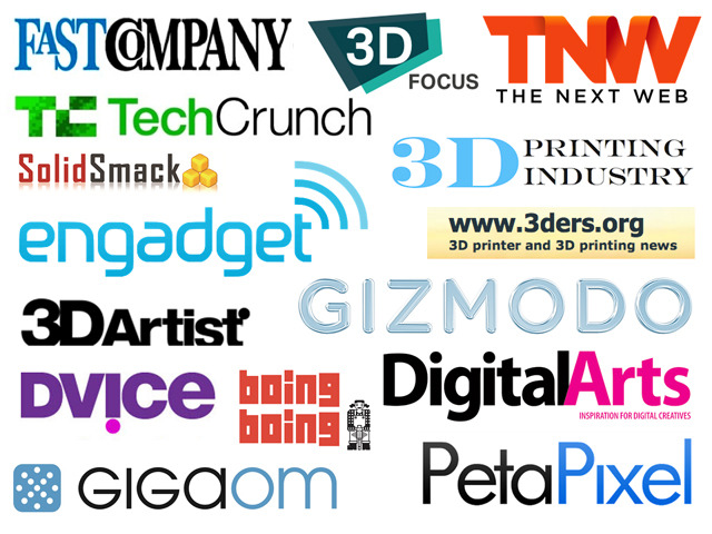 Fuel3D: As covered in these leading consumer and industry media