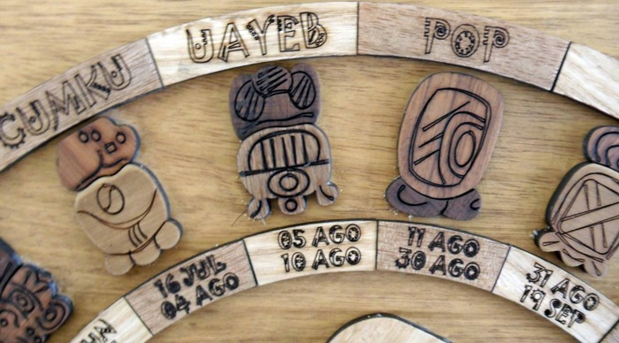 $75: only two lucky people will get to sit down with Jocelyn for an hour and have their Mayan sign read and interpreted.