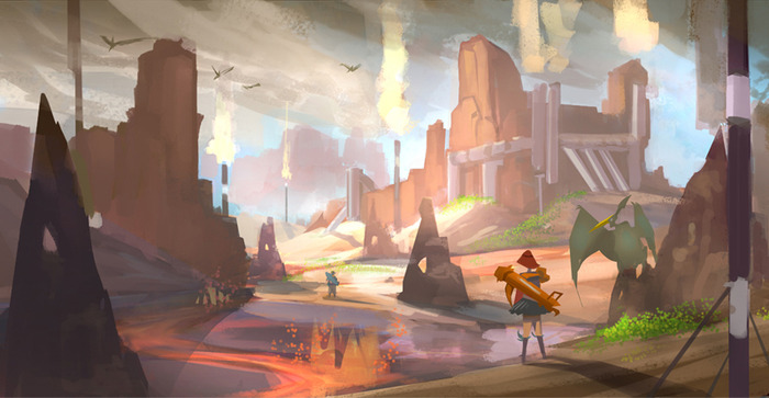 Stone Kingdom Concept Art