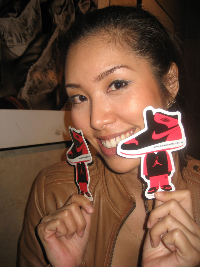 The Jordan Head Sticker (beautiful woman is not a reward)