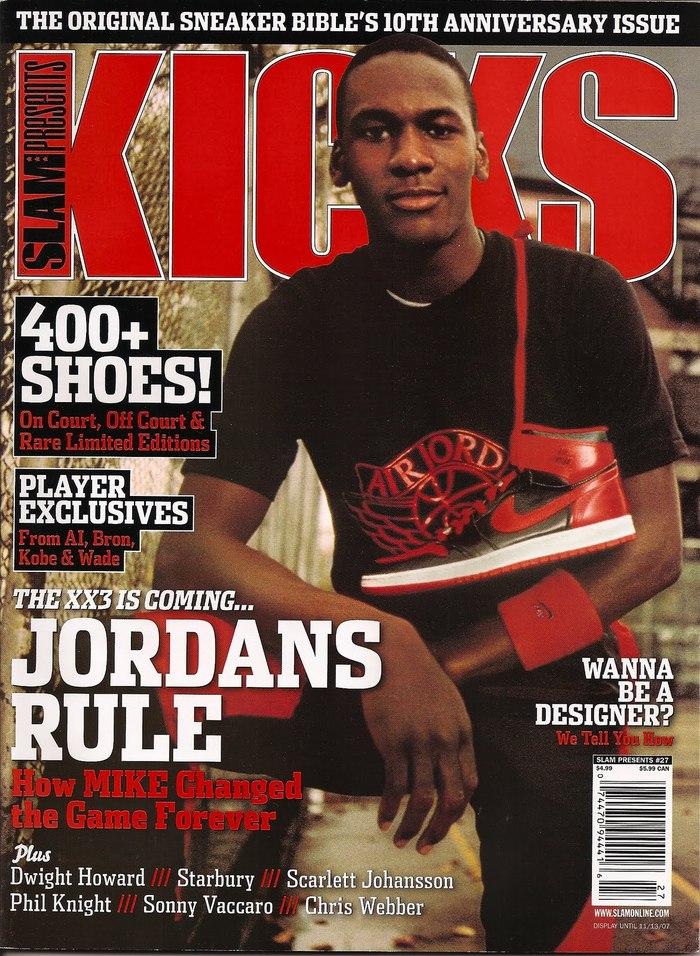 All Kicks Everythang - Magazine cover