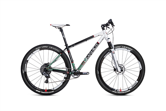 Domahidy Designs Reynolds 853 29er in full XX1 and Kickstarter special Light Green