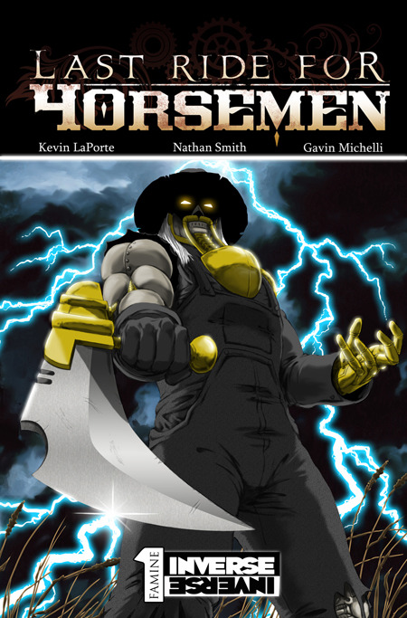 Last Ride for Horsemen - Standard Edition Cover - Available Beginning at the $10 Reward Tier!