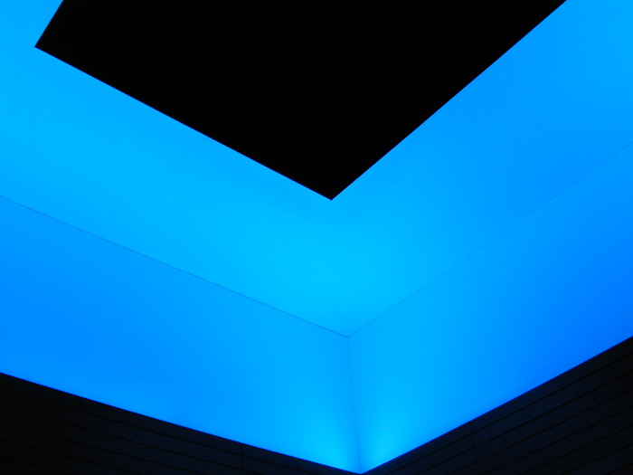 James Turrell Stonescape project 2007-present, Dan Dodt lighting