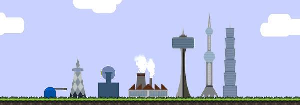 2d Game Backgrou...2d City Background