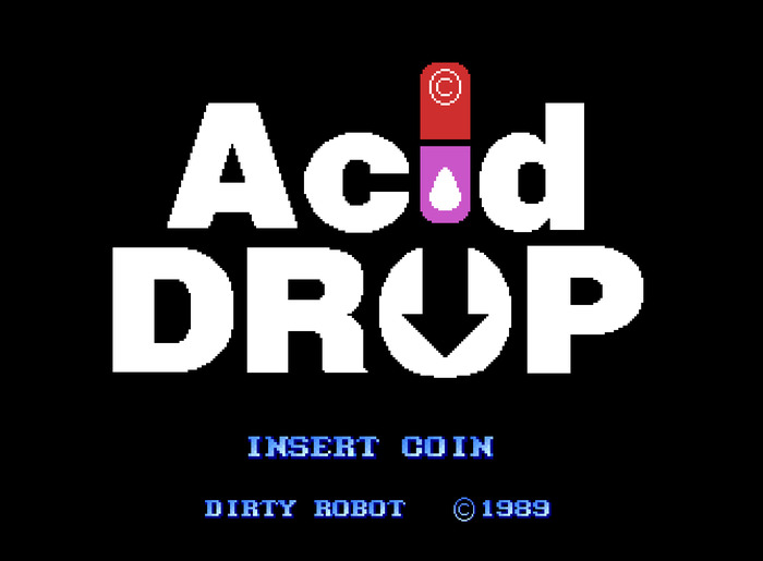 Acid Drop in 16-Bit (1989) Poster with every reward tier @ £15.00 or more. (Not Final Design)