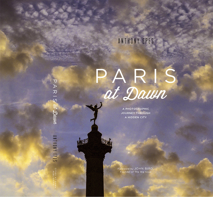 Paris at Dawn front cover