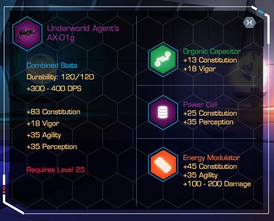 Pre-Alpha UI Design - Modding the AX-01g