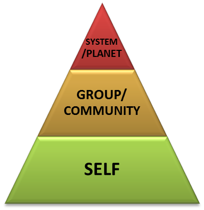 The Pyramid Model of Sustainability