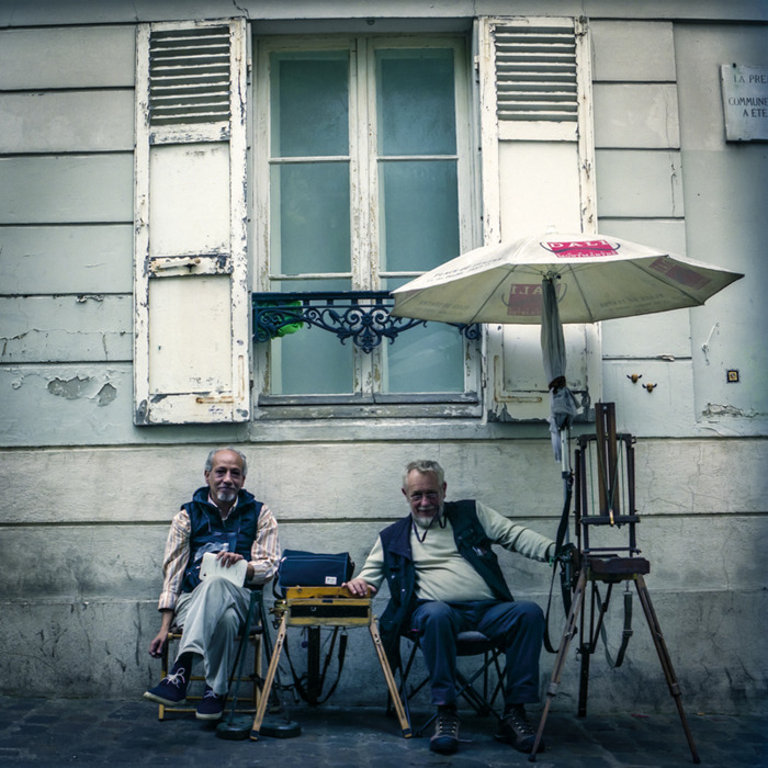 The Painters, Paris