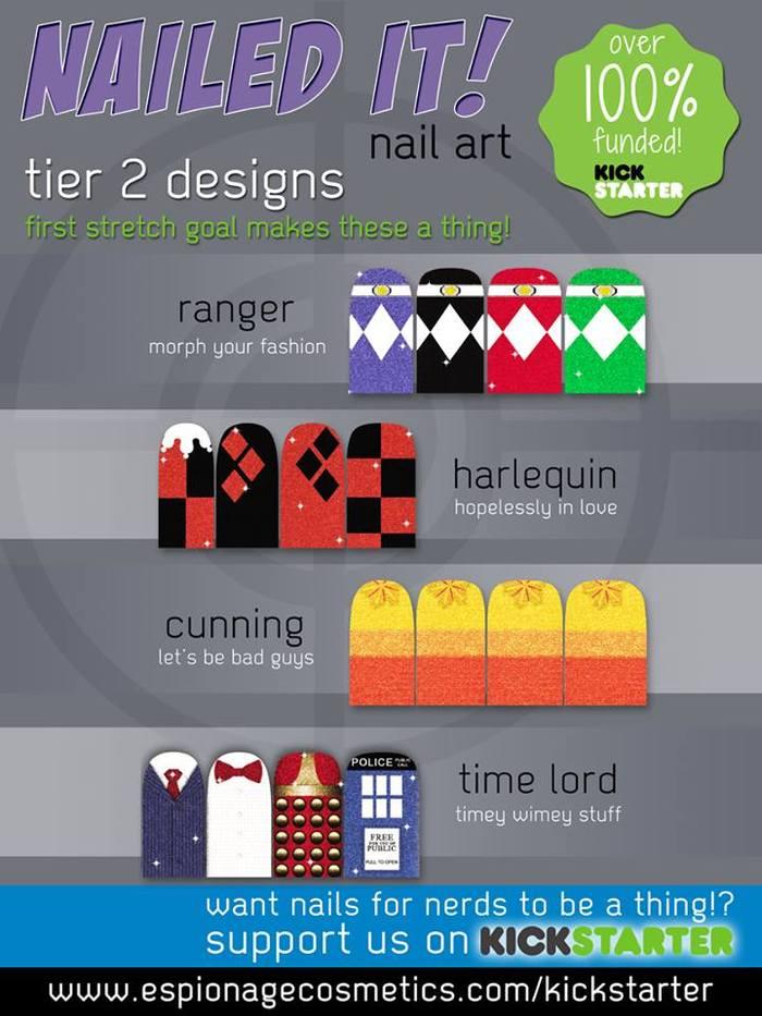UNLOCKED!  Tier 2 Designs!