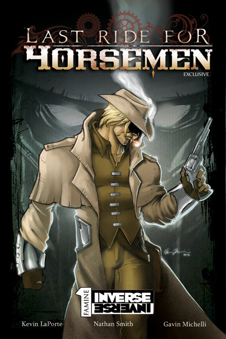 Last Ride for Horsemen - Kickstarter-Exclusive Edition Cover - Available Beginning at the $12 Reward Tier!