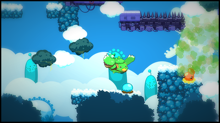 Chapter 4: Take flight on giant birds to explore the mysterious Sky Factory (work in progress)
