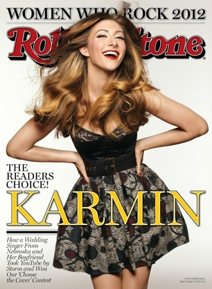Karmin's 2012 Rolling Stone Cover
