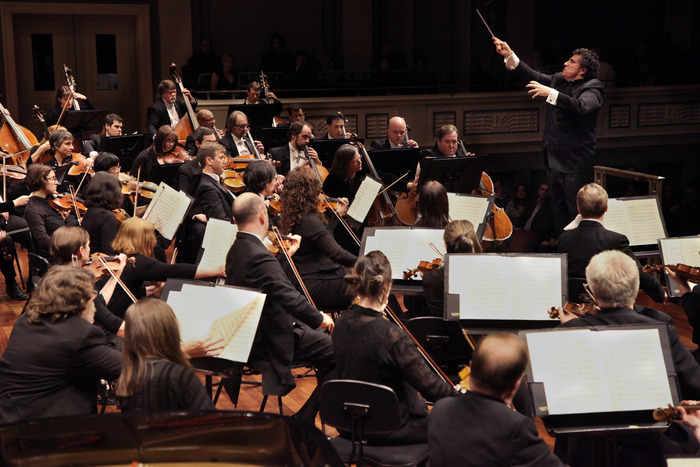 Nashville Symphony Orchestra under the direction of Music Director Giancarlo Guerrero