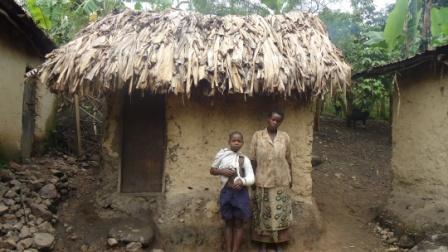 Nyaka student and Granny