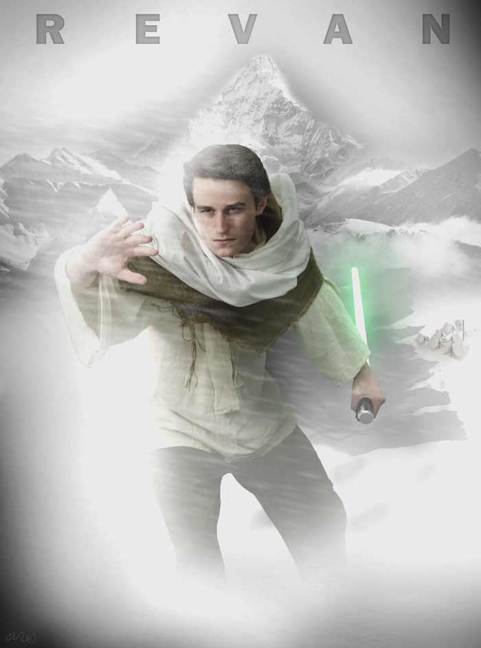Revan - SNOW - Early artwork concept for poster design.