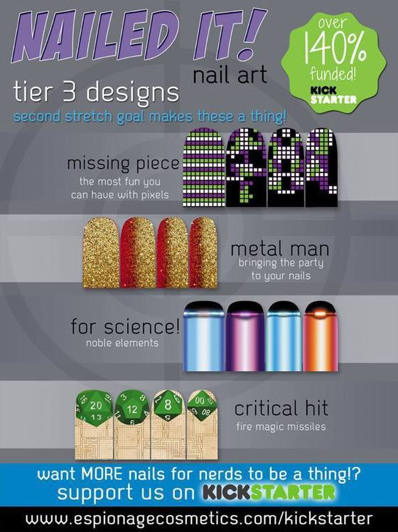 UNLOCKED!  Tier 3 designs!