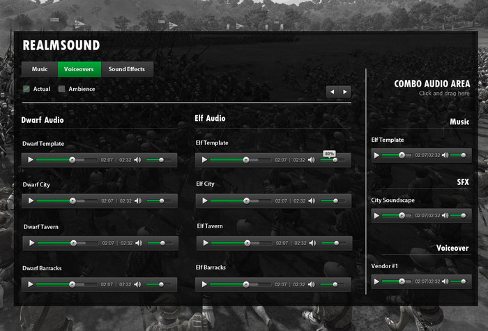 "Soundboard ""Mock-Up"". Still under developement"