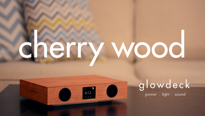 Glowdeck w/ Cherry Wood Finish