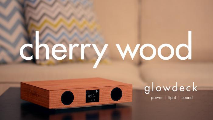 Glowdeck w/ Cherry Wood Finish