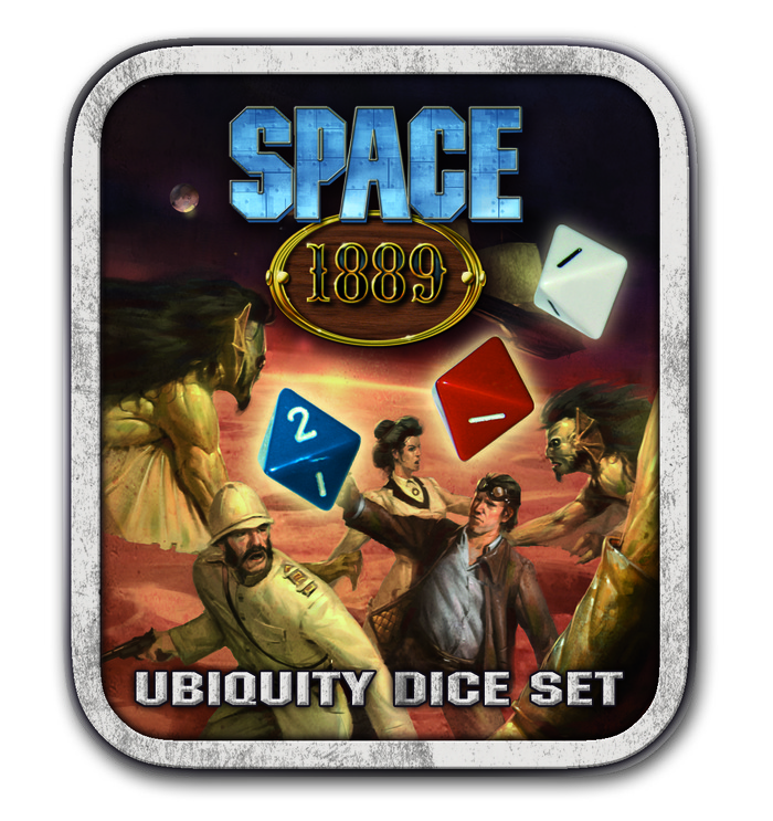Space: 1889 Ubiquity Dice Set
