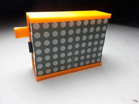 Displayboards with 3D printed prototype Modular cases