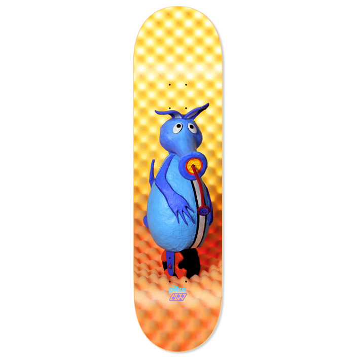Replica 1993 Alien Workshop Aardvark Sublimation Deck
