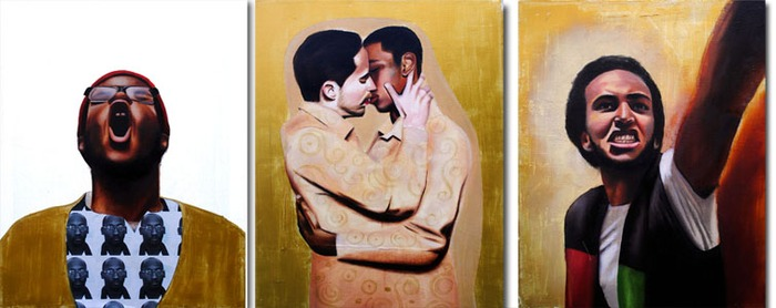 Troy Davis, The Kiss, Libya, 2013